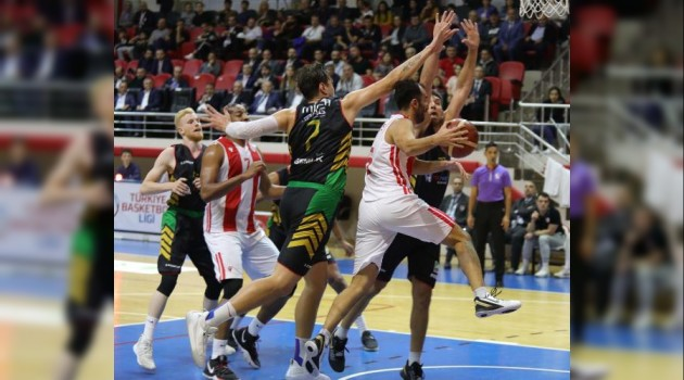 Samsunspor - Gemlik Basketbol: 101-92